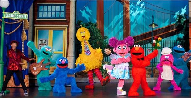 Sesame Street Live! Bridgestone Arena, Nashville Feb 23, 2020