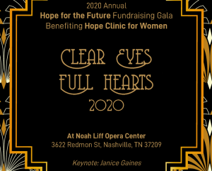 Hope for the Future Gala, Nashville, Tennessee