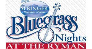 Bluegrass Nights at the Ryman Auditorium, Nashville, Tennessee