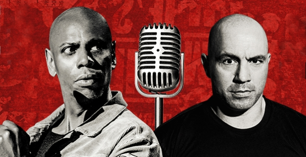 Dave Chappelle and Joe Rogan in Nashville at Bridgestone Arena 9/5/20. Buy Tickets on Nashville.com