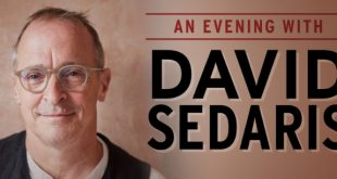 David Sedaris at Nashville War Memorial Auditorium 9/11/21. Buy Tickets on Nashville.com