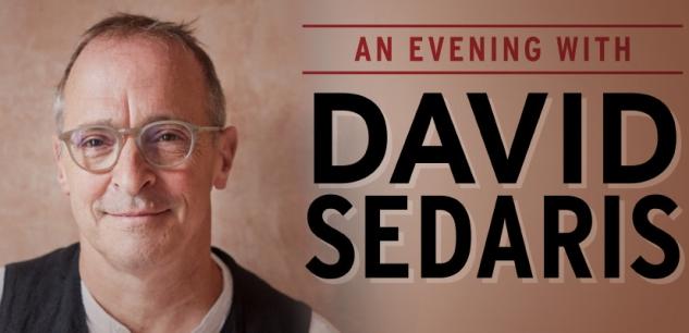 David Sedaris at Nashville War Memorial Auditorium 9/11/21. Buy Tickets on Nashville.com