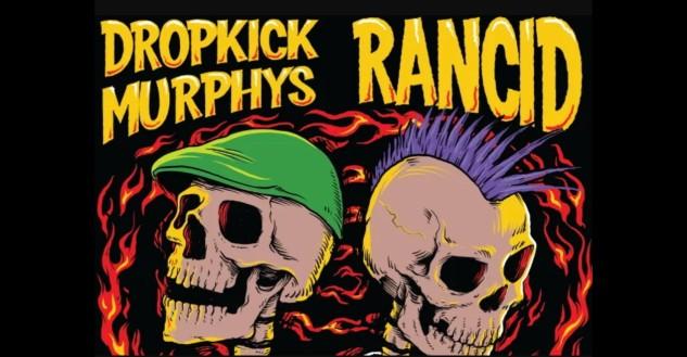 Dropkick Murphys and Rancid at Nashville Municipal Auditorium, Tennessee 5/6/20. Buy Tickets on Nashville.com