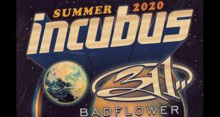 Incubus at Bridgestone Arena, Nashville 9/4/20 with 311