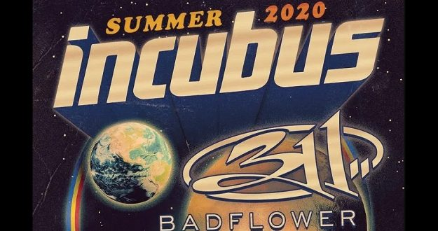 Incubus at Bridgestone Arena, Nashville 9/4/20 with 311