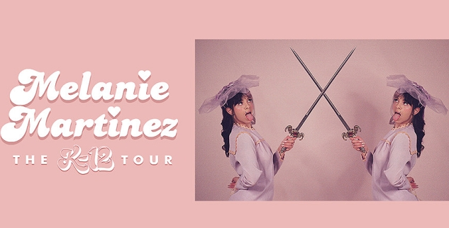 Musician Melanie Martinez at Nashville Municipal Auditorium, Tennessee 6/28/2020