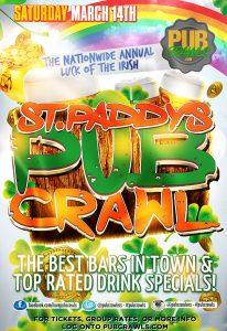 Luck of the Irish St Paddy's Pub Crawl Nashville