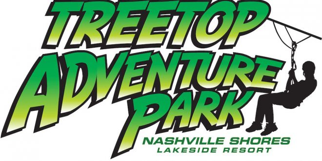 Treetop Adventure Park Opening Day, Nashville Shores, Tennessee