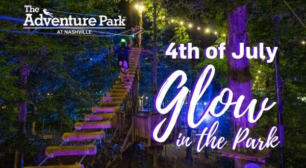 Glow in the Park - The Adventure Park at Nashville on the 4th of July 2020