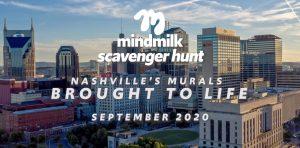 mindmilk scavenger hunt, Nashville, Tennessee