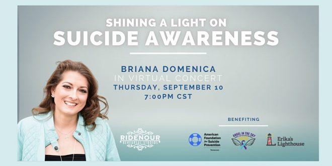 Shining a Light on Suicide Prevention Virtual Concert, Murfeesboro, TN