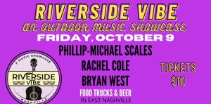 Riverside Vibe: An Outdoor Music Showcase, Nashville 10/9/20