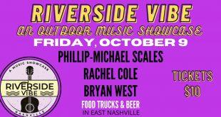 Riverside Vibe: An Outdoor Music Showcase, Nashville 10/9/20
