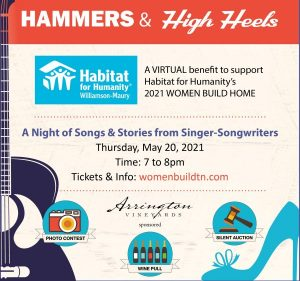 Hammers and High Heels 2021 Silent Auction, Nashville