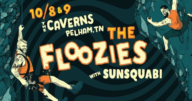 The Floozies at The Caverns, Pelham, TN October 8 and 9, 2021. Buy Tickets HERE on Nashville.com