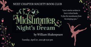 Next Chapter Society Virtual April Book Club, Nashville