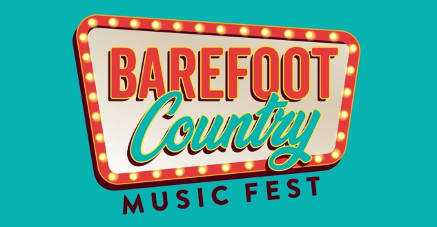 Barefoot Country Music Festival! Tickets, 3 Day Pass - Wildwood Beach, New Jersey August 19-22, 2021.