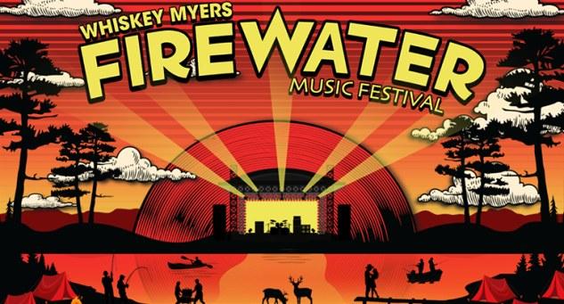 Whiskey Myers Firewater Music Festival Tickets!, Kansas City Sept 30 - Oct 2, 2021