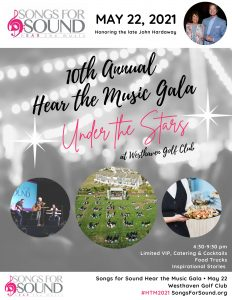 """Songs for Sound's 10th Annual Hear the Music Gala """"Under the Stars"""", Franklin, TN"""