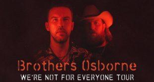Brothers Osborne Tickets! Nashville, TN at Ascend Amphitheater 9/16/21