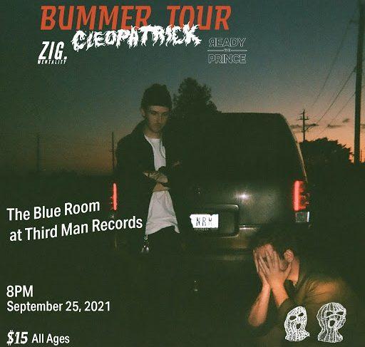 cleopatrick Live at The Blue Room - Nashville, September 25, 2021