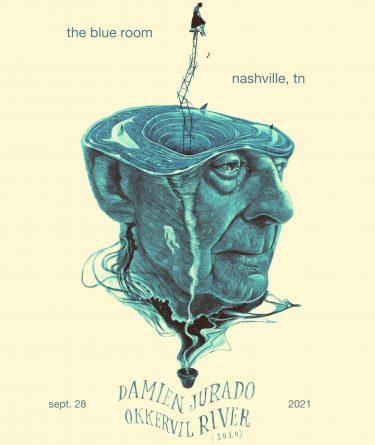 Okkervil River (solo) & Damien Jurado, The Blue Room, Nashville, 9/28/21
