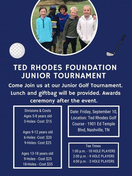 Ted Rhodes Junior Golf Tournament, Nashville 9/10/21