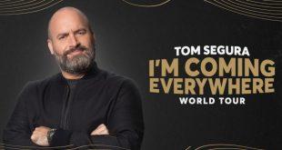 Tom Segura Tickets! Ryman Auditorium, Nashville January 15-16, 2022