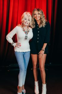 Dolly Parton and Carly Pearce