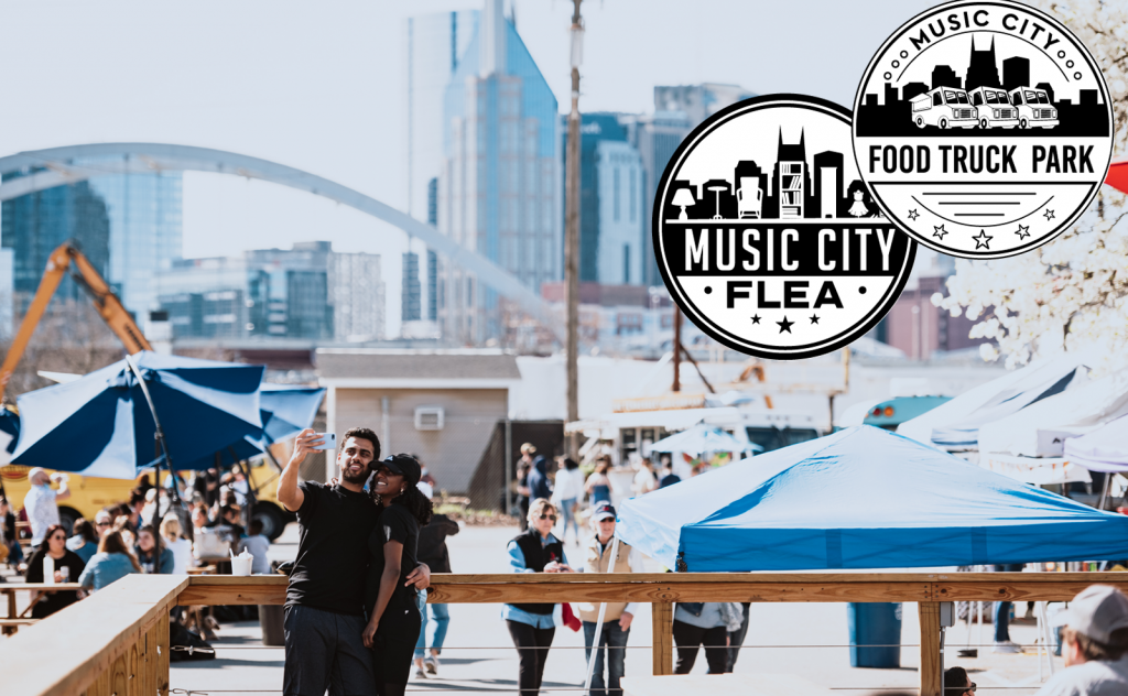 Music City Food Truck Park & Music City Flea Market, Nashville