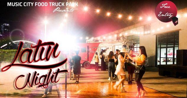 Latin Night at Music City Food Truck Park, East Nashville