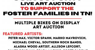 Daisy Lynn Art & Bike Benefit, Nashville Palace