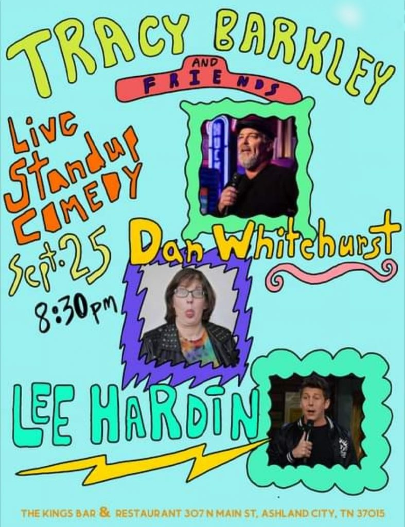 Live Stand Up Comedy featuring Tracy Barkley and Friends