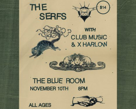 The Serfs and Club Music Live at Third Man Records, Nashville