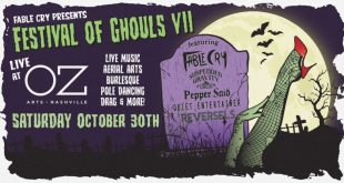 Fable Cry's Spooktacular Festival of Ghouls, Oz Arts Nashville, 10/30/21