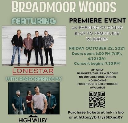 Lonestar at Broadmoor Woods, Nashville, 10/22/21