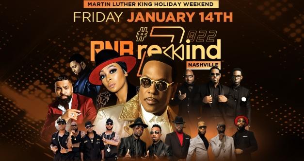 RnB Rewind 2 Concert Tickets! Bridgestone Arena, Nashville, 1/14/22. Tickets on sale here.