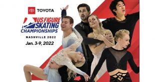 U.S. Figure Skating Championship Tickets! Bridgestone Arena, Nashville, January 2022